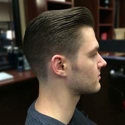 view from back of pompadour hair style new pompadour hairstyles for men pompadour haircut trends