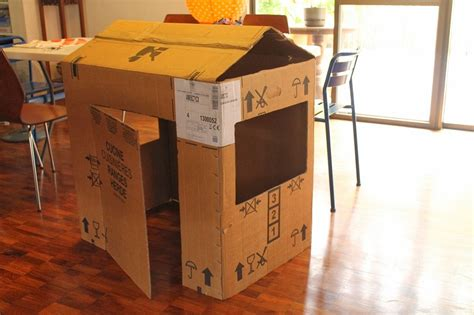 How To Decorate Your Den 16 Diy Cardboard Playhouses Guide Patterns