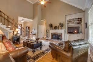 Living Room With Vaulted Ceiling House Of The Week 1824 Mosaic Trail Murfreesboro Bob Parks Realty Parks Homes