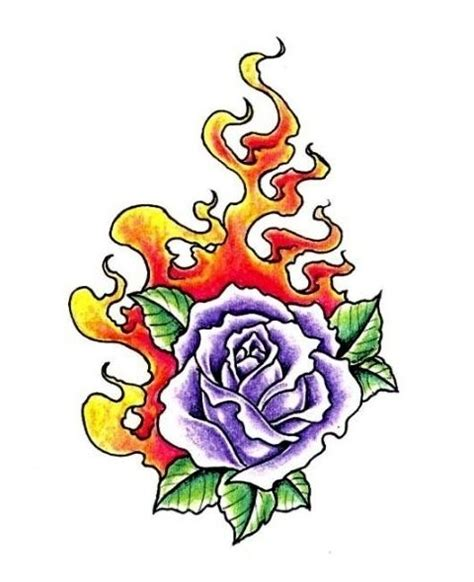 flaming rose tattoo admin collection page 1140