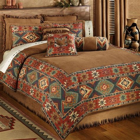 canyon ridge comforter set rustic bedroom decor