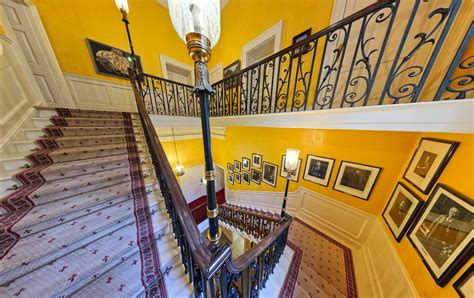 Home Decoration Wallpaper 10 Downing Street Grand Staircase Scene Therapy