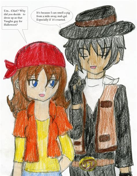 zadr comic halloween by chicairken on deviantart hm halloween 2ba cowboy by chicken yuki on deviantart
