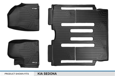 Kia Sedona Floor Mats Maxliner Floor Mats For Kia Sedona 2015 2016 Complete