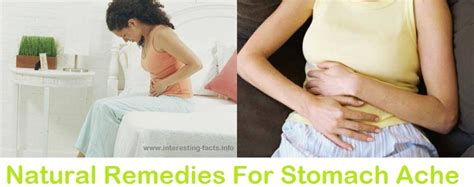 remedies for stomach ache ifai
