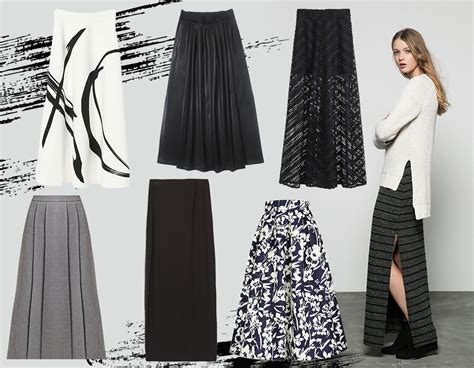 gonne lunghe le quot maxi skirt quot dell autunno inverno 2015 16