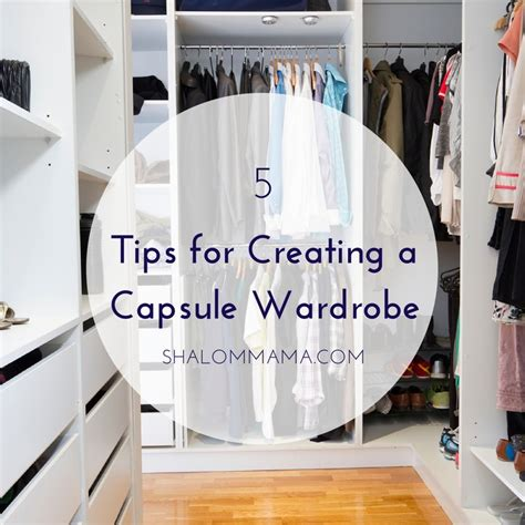 7 Tips For Creating A Capsule Wardrobe by 5 Tips For Creating A Capsule Wardrobe Tiny Apothecary