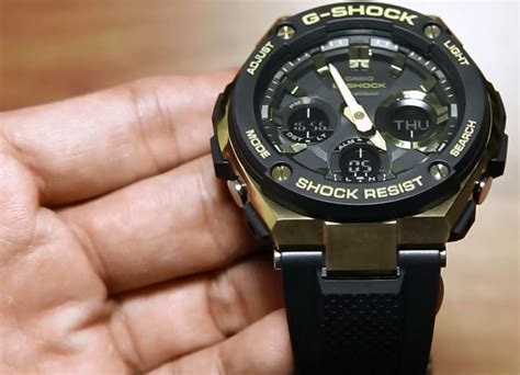 casio g shock g steel gst s100g 1a indowatch co id