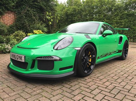porsche 911 green 2016 rs green porsche 911 gt3 rs for sale at 321 000 in