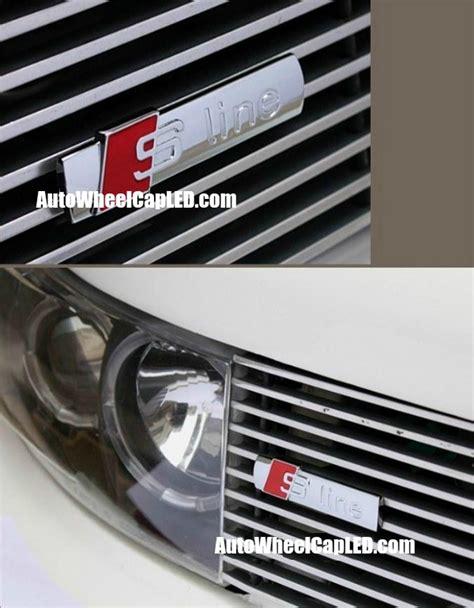 audi s line grill badge audi s line sline 3d front grille emblem grill badge