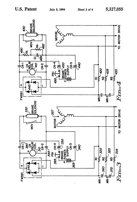 patent us5327055 mechanical brake hold circuit for an electric motor patents
