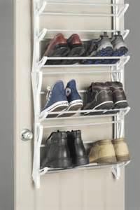 Closet Door Shoe Rack Whitmor The Door 36 Pair Hanging Shoe Rack Organizer Storage Closet Boot Ebay