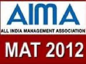 mat 2012 management aptitude test application form