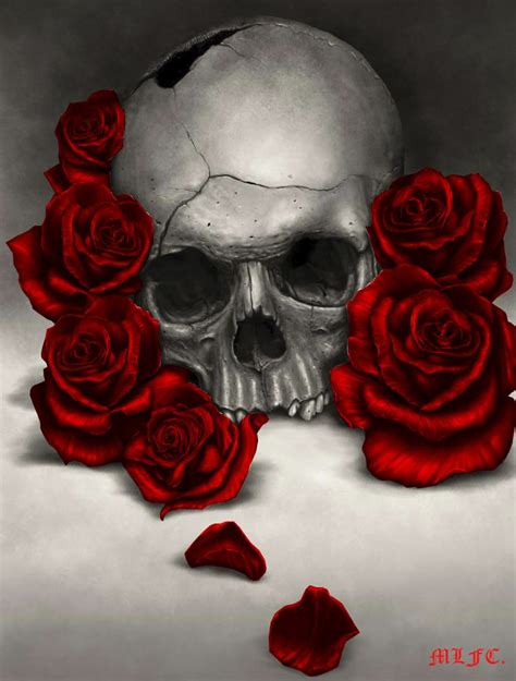 De 20  bästa idéerna om Skull roses tattoo på Pinterest   Tattoo caveira, Skull tatto och Tinta