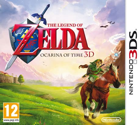 Kaset 3ds The Legend Of Ocarina Of Time 3d the legend of ocarina of time 3d nintendo 3ds giochi nintendo