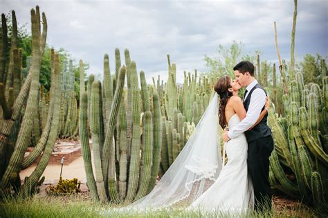 Desert Botanical Garden Wedding by Totes And Home On
