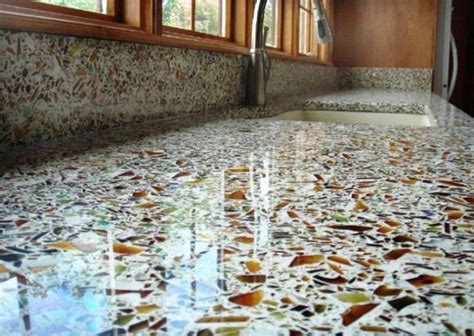 Recycled Glass Countertops Houston by New Designer Brings Sustainable Outdoor Design To Houston