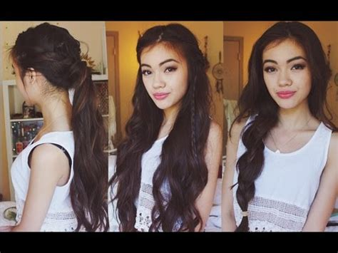 hairstyles for school vivian v 3 easy boho hairstyles youtube