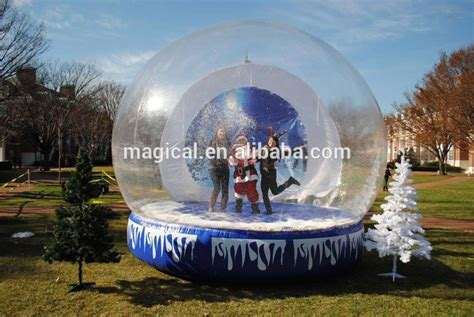 outdoor christmas snow globe for sale buy christmas snow