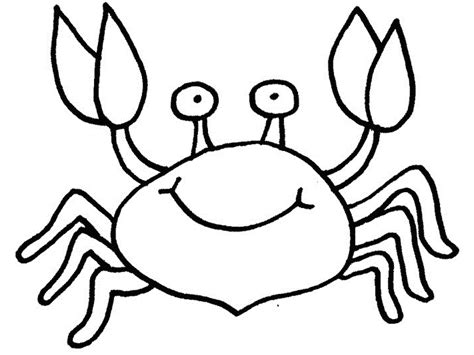 Crab Colouring Pages Free Printable Crab Coloring Pages For Kids