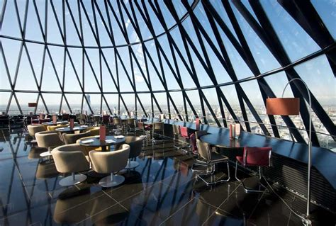 bar at the top of the gherkin gherkin venue hire london ec3 crazy cow events