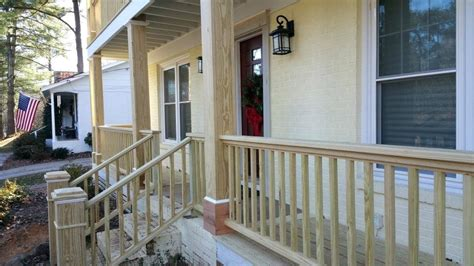 Home Depot Front Porch Railing by Stair Railing Kits Interior Outdoor Modern Exterior Home