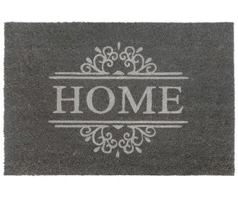 Gray Doormat by Classic Grey Home Large Vinyl Backed Doormat