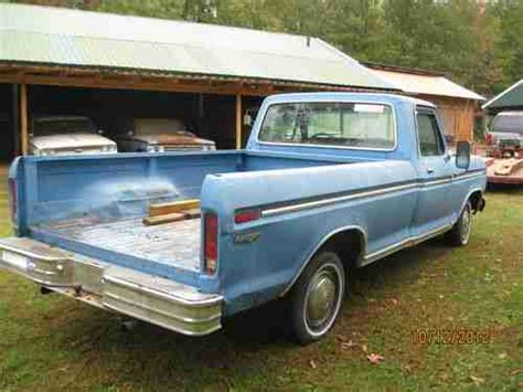 ford f10 sell used 1973 ford f10 ranger truck in gleason tennessee