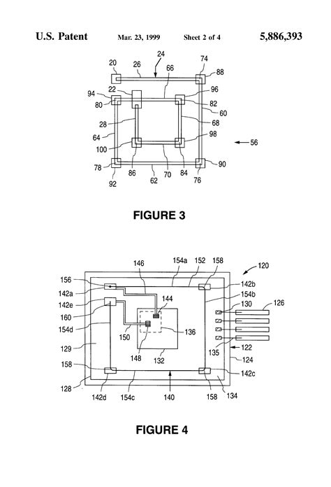 integrated circuit chip bonding patent us5886393 bonding wire inductor for use in an integrated circuit package and method