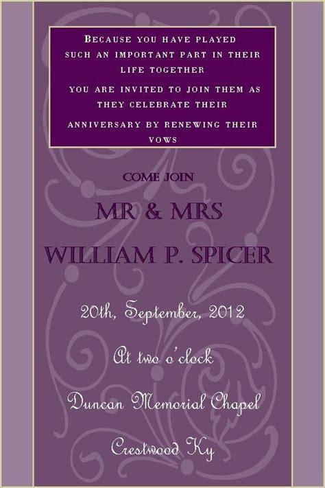 wedding vow renewal invitation ideas 25 best ideas about wedding renewal invitations on