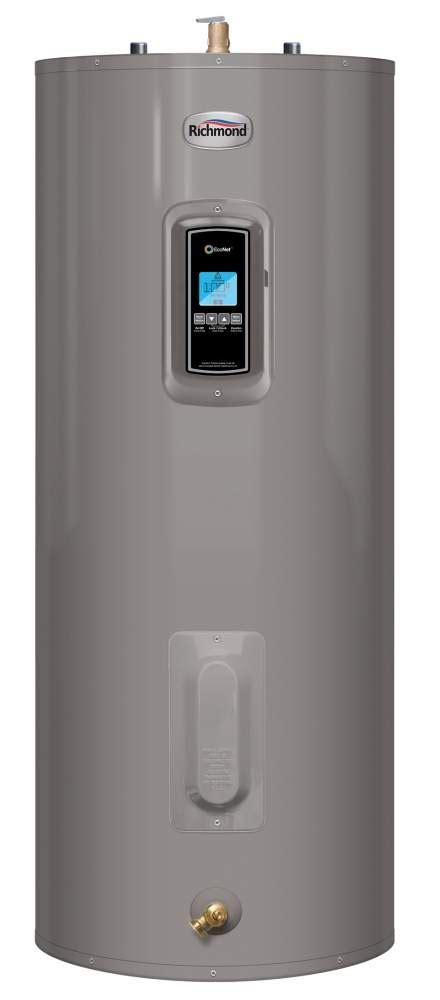 richmond self cleaning water heater richmond 12em40 dec 40 gal encore medium electric