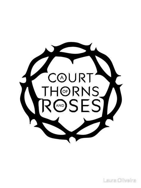 """""""A Court of Thorns and Roses"""" Stickers by Laura Oliveira"""