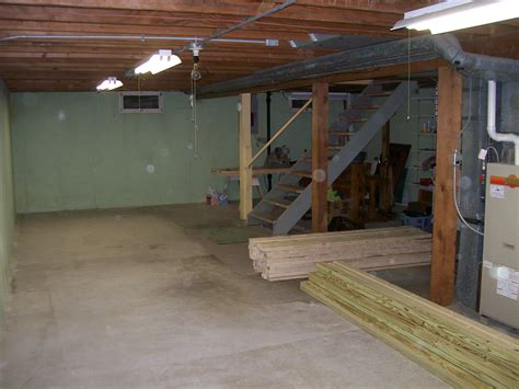Basement A Running Blog With Some Running What To Do With An Unfinished Basement