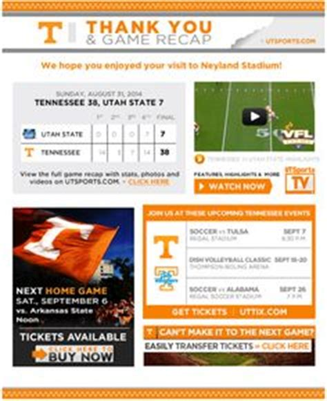 College Newsletter Sles College Athletics Newsletters Gameday Recap Weekly Sales On Attendance Buy Tickets