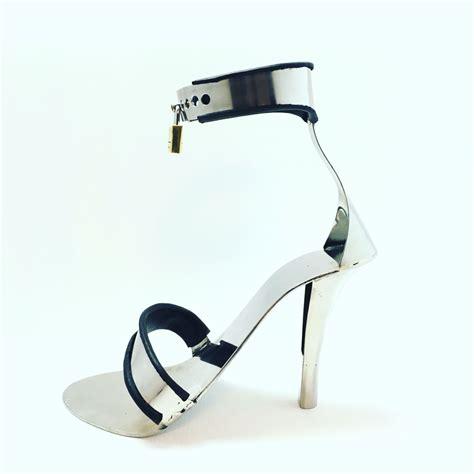 steel high heels steel high heel shoes from fancysteel chastity belts