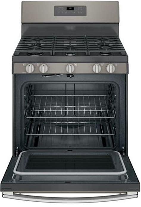 ge slate kitchen package gye22hmkes jgb660eejes jgb660eejes ge 30 quot free standing gas range with edge to
