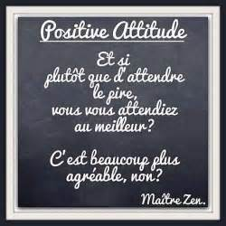positive attitude citation fran 231 ais citation