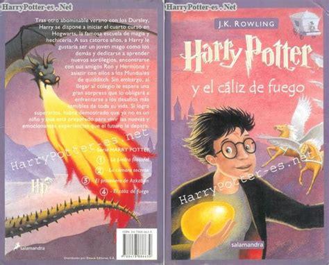 libro como fuego en el libro de harry potter y el c 225 liz de fuego al dia libros
