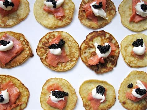 Sho Caviar salmon and caviar blini recipe serious eats