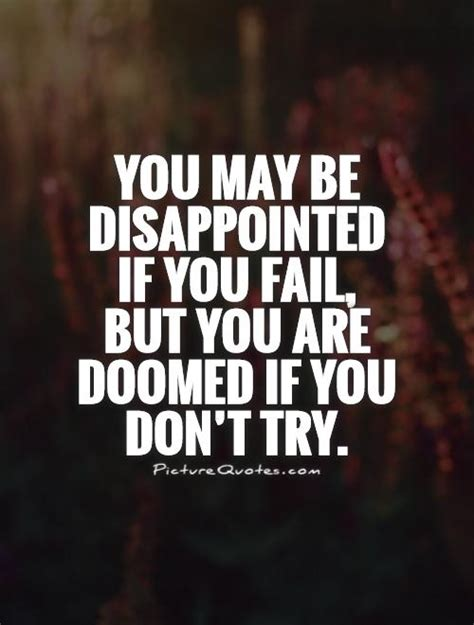 bible quotes on disappointment quotesgram if you dont try quotes quotesgram