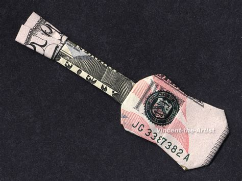Origami Guitar Dollar Bill - 50 bill origami guitar by vincent the artist on deviantart