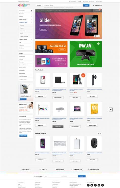 big commerce templates ebajes free responsive bigcommerce template themevale