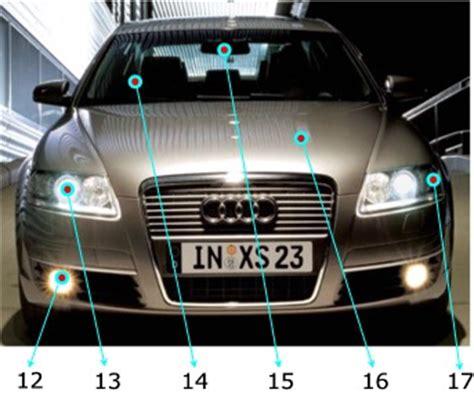 Auto Auf Englisch by Auto Und Autoteile Im Englischen Vokabelliste Mit Bildern