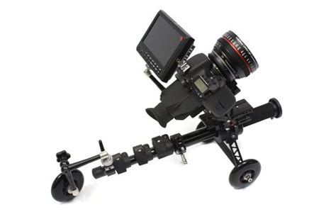 Pl Cp Three Black cinematics dslr pulley scorpion king chariot roller