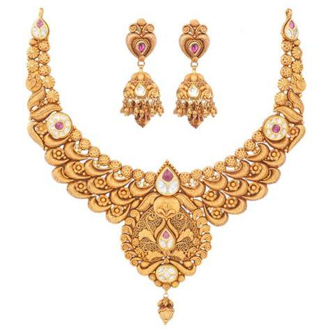 Wedding Gold Jewelry by Relish Gold Set Wedding Jewellery Gold Jewellery