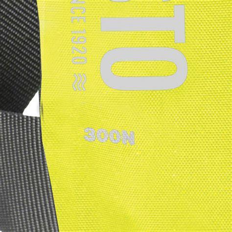 reddingsvest geel besto pro automatisch reddingsvest geel zwart 300n