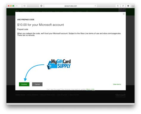Gift Card Redemption - how to enter xbox live gift card on one infocard co