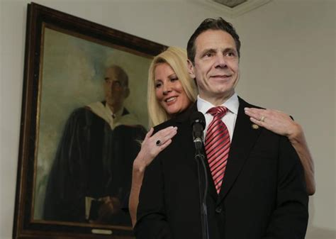 in sandra lees post surgery photos a sensitive side of sandra lee goes home with cuomo day after latest surgery