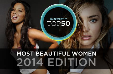 50 most beautiful women 2014 the 50 most beautiful women of 2014