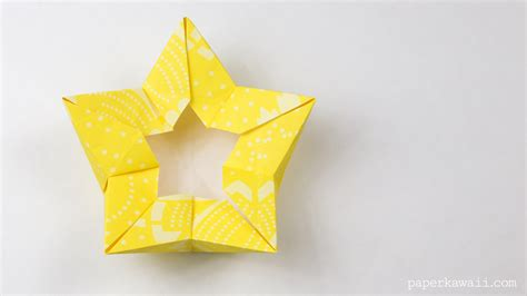 Crown Origami - origami flower crown bowl tutorial paper kawaii